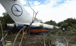 Plane crash-lands in Amazonian jungle