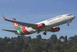 Kenya Airways has lost cotact with a commercial airliner.