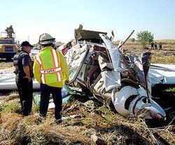 Cessna-208 plane crashed after takeoff in Sinaloa, Mexico; 15 injured