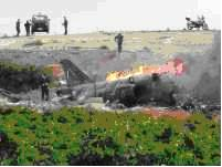 Phantom Fighter Jet Crashed, Two Pilots Safe