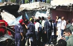 Либийски МиГ-23УБ се разби по време на демонстрационни полети разрушавайки 4 сгради.