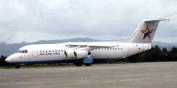 Aviastar Mandiri BAe 146-300 plane (PK-BRD)