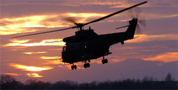 An RAF Puma helicopter crashed during a night military exercise-2007