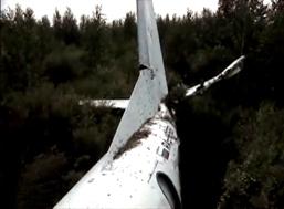 Обломки самолета Ан-24