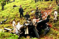 Six Colombia soldiers dead in plane crash