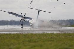 В Дании разбился пассажирский самолет