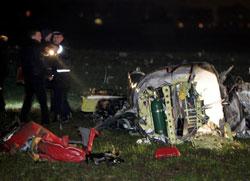 Five die in Ukraine plane crash