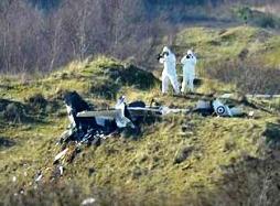 Four killed in mid-air plane crash