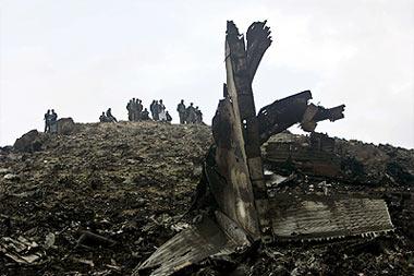 Cargo plane crashed near Kabul.