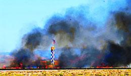 Mid-air crash at Reno Air Races