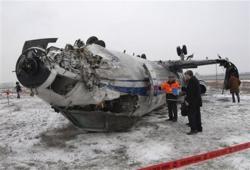 Belarussian plane crashes in Armenia