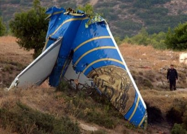 Cypriot plane crashed into a mountain in Greece.