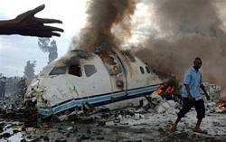 Plane crashes in Congo, killing 44
