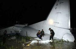 Cargo plane crashes in Cambodia.