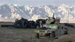Место крушения вертолета CH-47 Chinook