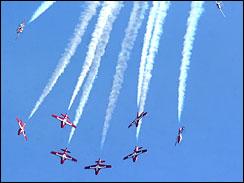 Самолеты эскадрильи Snowbird