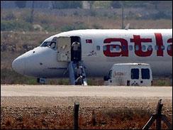 Atlasjet was hijacked