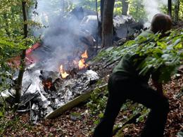 7 Die, 31 Survive as Planes Crash in Midair Over Slovakia (Photo: AP)