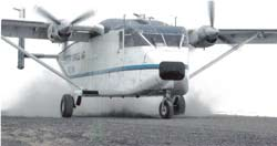 Shorts SC.7 Skyvan 3-100 belonging to Arctic Circle Air Service aircompany