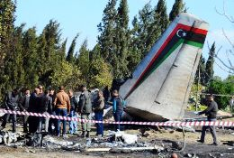 An-26 crashed in Tunisia killing all 11 on board.