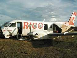 Passenger plane crash-landed in Coari, Brazil
