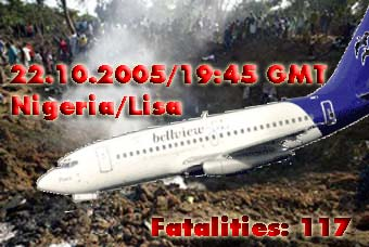 The Boeing 737 fell from the skies of Lisa like a huge ball of fire.
