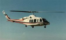 Bell-214 crashed into a rice field.