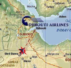 Djibouti Airways cargo plane crashеs in east Ethiopia's Somali region