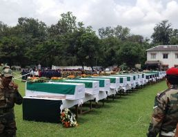 Uttarakhand: Guard of Honour for 20 bravehearts who died in the chopper crash