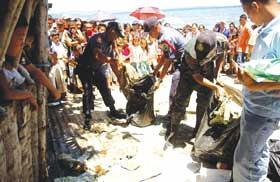 Philippine C-130 plane debris found in southern sea
