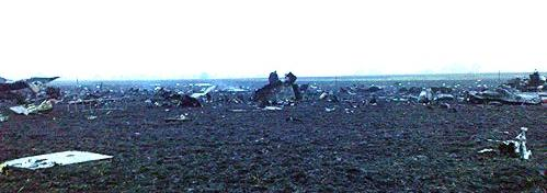 The wreckage. Photo: KP.RU