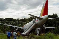 PAL plane overshoots Bancasi runway