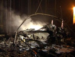 The site of the crashed S-Air plane. Photo: Vesti.ru