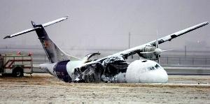 FedEx Cargo Plane Crashes in Lubbock