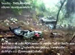 23 confirmed dead in army helicopter crash in Laos