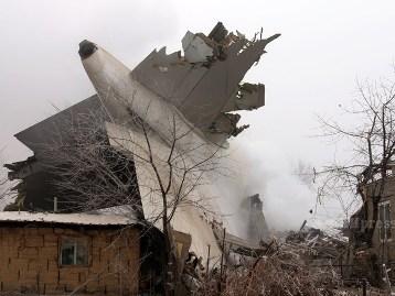 Cargo Plane Crashed in Kyrgyzstan