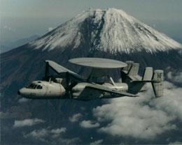 Катастрофира самолет за ранно предупреждение от ВМС на САЩ