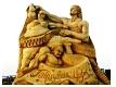 Sand sculptures in Burgas, BG - 2010 (Photo album)