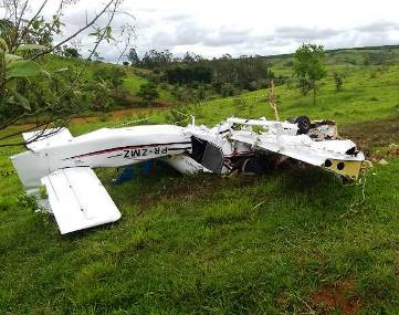 A private plane, Van's RV-10 crashed, 5 dead