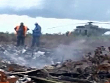 Air Guicango plane crashed in storm, killing seven people