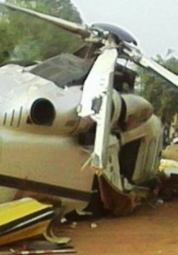 8 dead, 12 injured after Senegal helicopter crashed