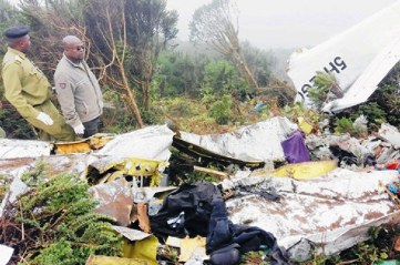 Chartered plane crash kills 11 in Tanzania