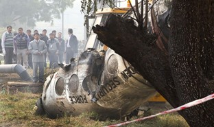 Indian paramilitary plane crashes, killing all 10 aboard