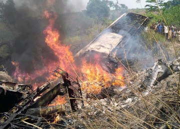 Small plane crashed in Congo's Kasai province, 5 dead and 2 injured