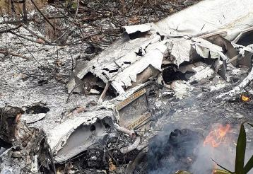 A small plane crashed in Brazil, 4 dead