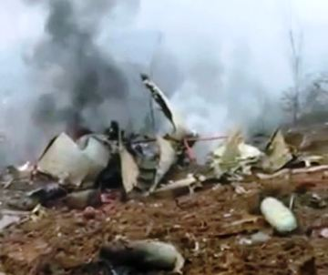 Chinese military plane crashed in training exercise, at least 12 dead