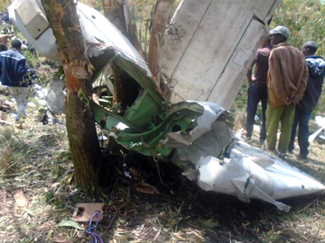 Ethiopian military plane crash kills 18