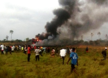 No survivors in DR Congo cargo plane crash in Kinshasa