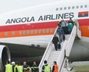Преди полет с ТААG Angola Airlines